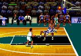 NBA Hang Time Genesis About to score.