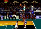 NBA Hang Time Genesis About to do a slam dunk.