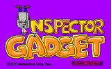 Inspector Gadget: Mission 1 - Global Terror! DOS Game Title