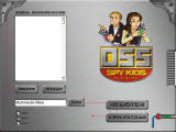 Spy Kids Learning Adventures: Mission: The Nightmare Machine Windows Main menu