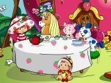 Strawberry Shortcake: Amazing Cookie Party Windows Intro - Strawberry has a tea party in front of her house