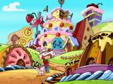 Strawberry Shortcake: Amazing Cookie Party Windows Houses made of cakes!