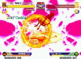 "Waku Waku 7 Neo Geo Arina performs accurately her HaraHara Attack ""Arina Special"" and, with this, gets to defeat Tesse!"