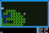 Ultima I: The First Age of Darkness Apple II Outdoors