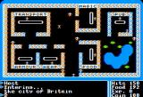 Ultima I: The First Age of Darkness Apple II Town