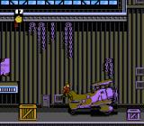 The Rocketeer NES Starting off in an exceptionally large airplane hangar