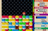 Mr. Driller WonderSwan Color Deeper still, block types repeating.