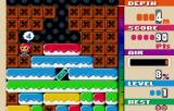 Mr. Driller WonderSwan Color Count down to run out of air.