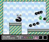 Mr. Gimmick NES The boss's spew of enemies proves no match for Mr. Gimmick!