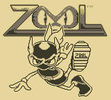 Zool Game Boy Title Screen