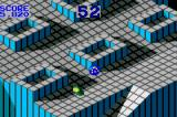 Marble Madness / Klax Game Boy Advance Marble Madness: these enemies try to jump on your marble.