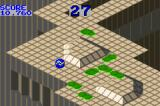 Marble Madness / Klax Game Boy Advance Marble Madness: more and more enemies appear as you progress through the game.