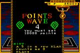 Marble Madness / Klax Game Boy Advance Klax: this wave requires 10,000 points to finish.