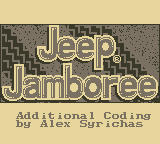 Jeep Jamboree: Off Road Adventure Game Boy Title/Credits
