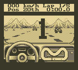 Jeep Jamboree: Off Road Adventure Game Boy At the starting line