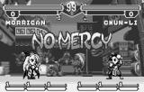 Pocket Fighter WonderSwan Final showdown between Morrigan and Chun-Li