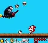 Mr. Nutz Game Boy Color Fight with Witch...