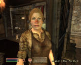 The Elder Scrolls IV: Oblivion Windows Meeting a female blacksmith