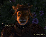 The Elder Scrolls IV: Oblivion Windows A highwayman looking for easy money will find ruthless death