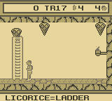 David Crane's The Rescue of Princess Blobette Starring A Boy and his Blob Game Boy Licorice = Ladder