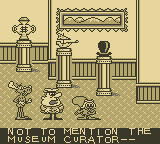 The Adventures of Rocky and Bullwinkle and Friends Game Boy Opening cut-scene: The Museum