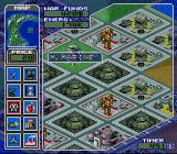 Metal Marines SNES An overcrowded base in a small area