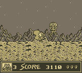 The Adventures of Rocky and Bullwinkle and Friends Game Boy Rocky on the Moon