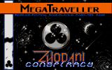 MegaTraveller 1: The Zhodani Conspiracy Atari ST The title screen