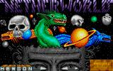 Netherworld Atari ST The title screen