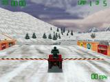 Snowmobile Championship 2000 Windows Practice in Direct 3D resolution