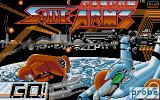 Side Arms Hyper Dyne Atari ST The title screen