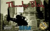 ThunderBlade Atari ST The title screen