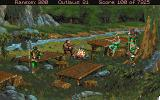 Conquests of the Longbow: The Legend of Robin Hood Amiga The camp.