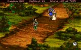 Conquests of the Longbow: The Legend of Robin Hood Amiga A poor woman is being bullied!
