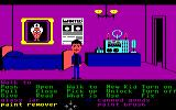 Maniac Mansion Commodore 64 In Dr. Fred's room.