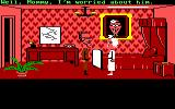 Maniac Mansion Commodore 64 A cutscene with Weird Ed and Edna.
