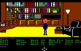 Maniac Mansion Commodore 64 In the library.