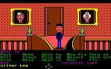 Maniac Mansion Commodore 64 Pictures of Dr. Fred and Edna on the wall.