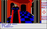 Transylvania Atari ST Close encounter with a vampire
