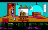 Maniac Mansion Amiga In the art room.