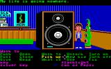 Maniac Mansion Amiga In the Green Tentacle's room.