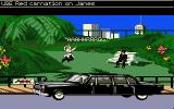 007: James Bond - The Stealth Affair Amiga A drive-by shooting!