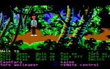 Zak McKracken and the Alien Mindbenders DOS Zak is in the jungle.