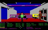 Zak McKracken and the Alien Mindbenders Commodore 64 At an airport.