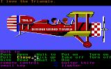 Zak McKracken and the Alien Mindbenders Commodore 64 Flying.