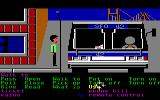 Zak McKracken and the Alien Mindbenders Commodore 64 Near the bus.
