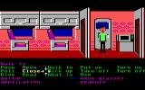 Zak McKracken and the Alien Mindbenders Commodore 64 Zak in the plane.