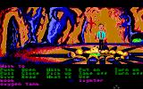 Zak McKracken and the Alien Mindbenders Amiga In a cave.