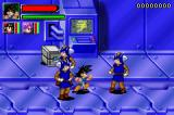 Dragon Ball GT: Transformation Game Boy Advance Goku against some soldiers