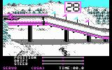 The Games: Winter Edition DOS Ready for luge? (CGA)